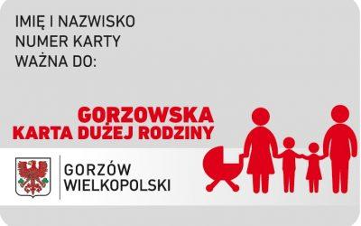 Gorzowska Karta Dużej Rodziny